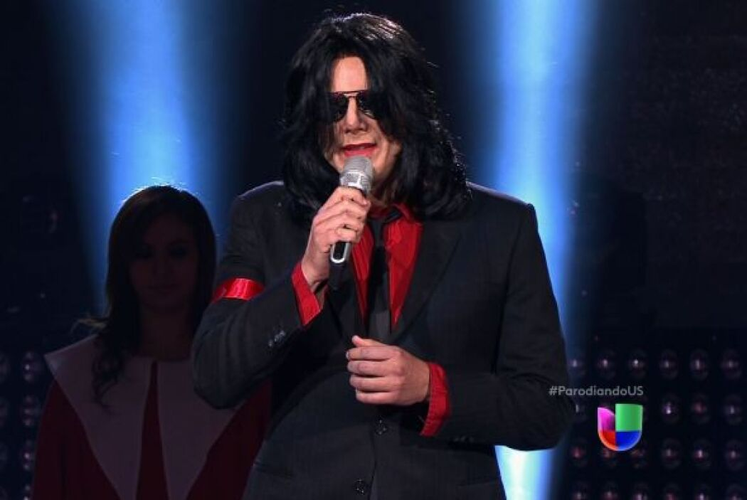 """¡Pero qué gran sorpresa dio Michael Jackson en """"Parodiando""""! Este invita..."""