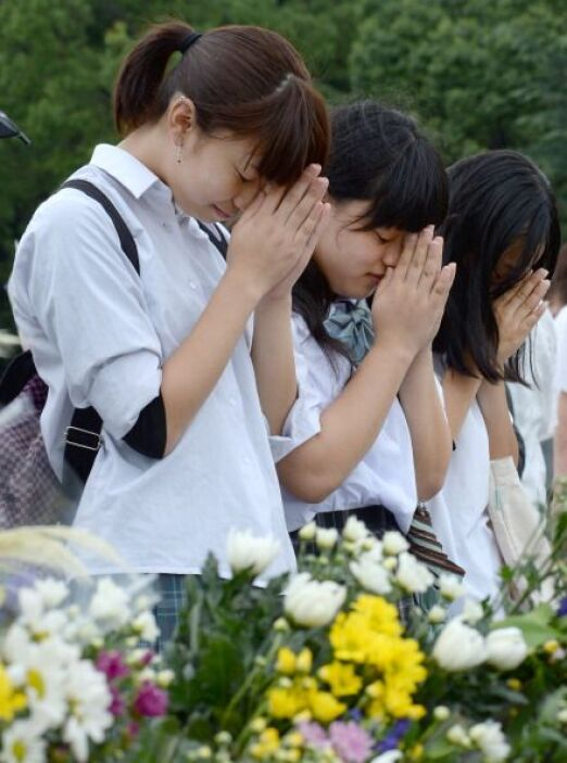 El alcalde de Hiroshima también defendió el carácter pacifista de la Con...