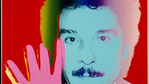 El artista Antonio López retratado por Andy Warhol en los a&ntild...