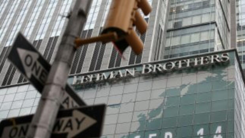 La caída de Lehman Brothers colapsó a Wall Street en 2008.
