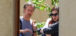 Anne Hathaway con su bebé