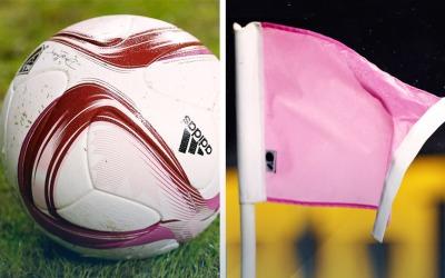 Conciencia sobre el cáncer de mama en la MLS. Pelota rosa