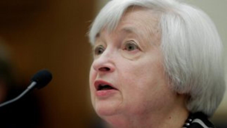 Janet Yellen, presidente de la Fed.