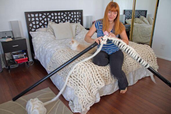 Laura reside en Los Angeles, California y en 2011 se le ocurrió esta idea.