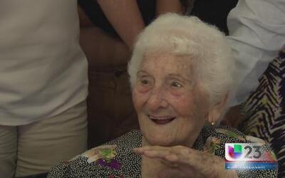 ¿Cuántos cumplió? ¡104 años de buen humor!