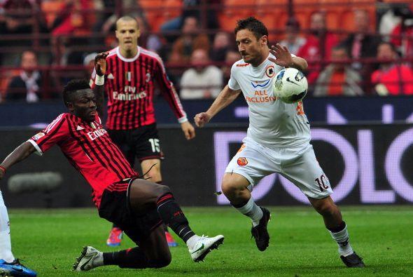El Milan venció a la Roma por 2 a 1 y sigue en lo más alto...