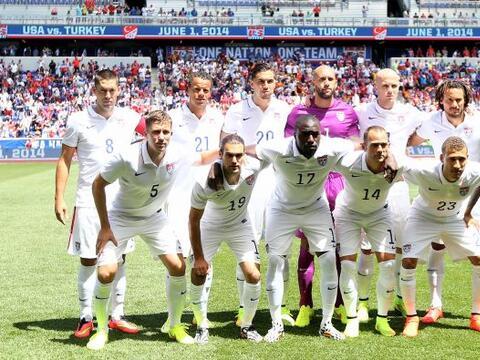 Calificamos a todos los jugadores de Estados Unidos en el amistoso en el...