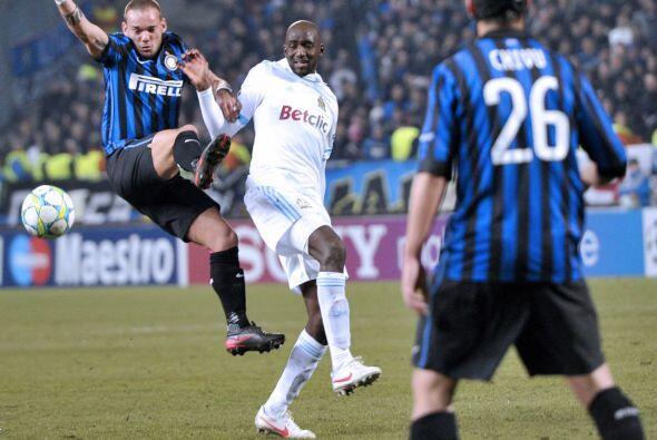 Incluso, los italianos tuvieron algunas opciones al ataque, llevados m&a...