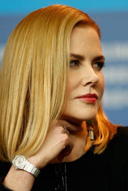 Nicole Kidman lo lleva alisado y con las puntas hacia adentro, un gran a...