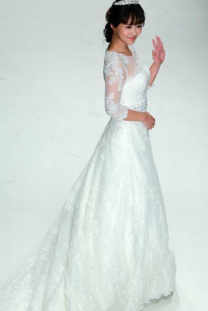 La caída en los vestidos en algunos modelos es muy tradicional pe...