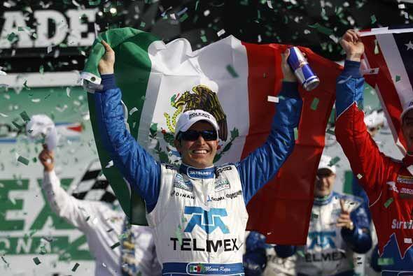 Rojas logró la victoria en esta legendaria prueba en la edición de 2008,...