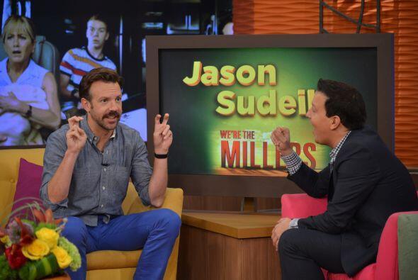 Jason Sudeikis se dijo feliz de poder trabajar una vez más con Jennifer...