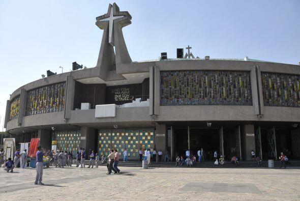 La Basílica de Guadalupe es uno de los recintos católicos más visitados...