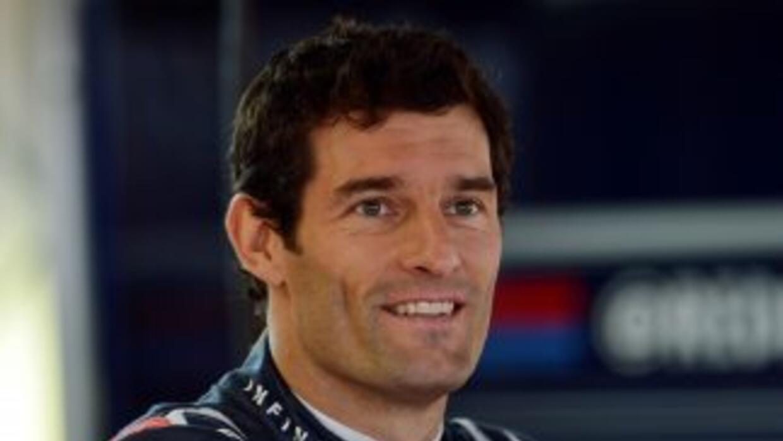 Mark Webber, piloto de Red Bull, negó haber firmado un contrato para cor...