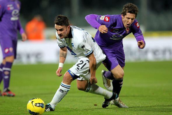 Fiorentina se sintió herido y fue en busca del empate.