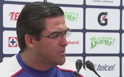 Joaquín Moreno, el DT interino de Cruz Azul, cree que es posible llegar...