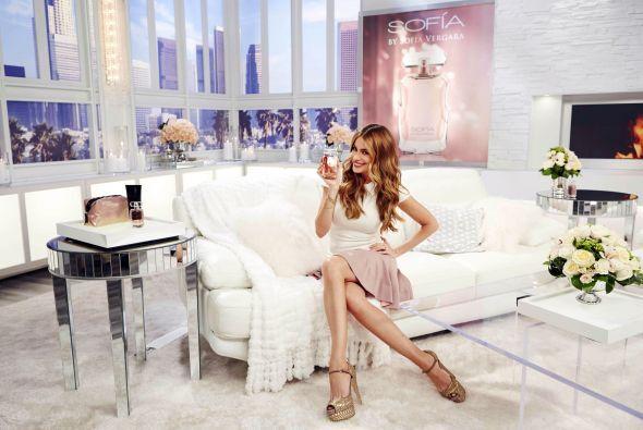La actriz confesó que tener su propio perfume es un sueño hecho realidad.