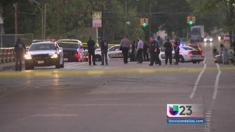 Persecución y tiroteo en Dallas deja dos heridos