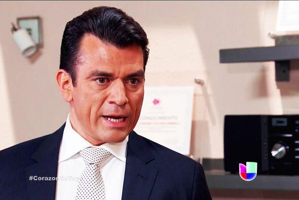 Piensa las cosas Fernando, no puedes dejar a la empresa que tanto quieres.