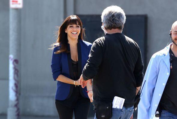 La guapa actriz dio un giro a su imagen como parte de su nuevo papel en...