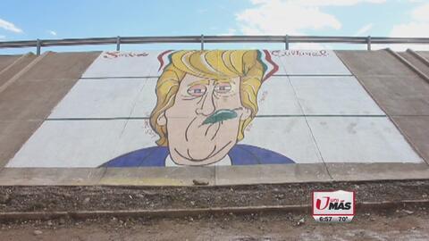 Mural de Trump en Sinaloa causa controversia