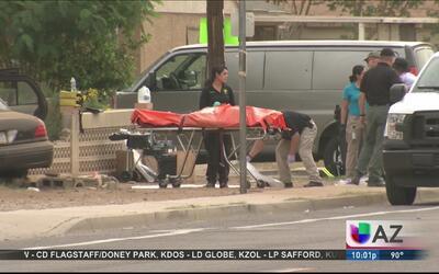 Oficiales reportan un doble homicidio en Maryvale