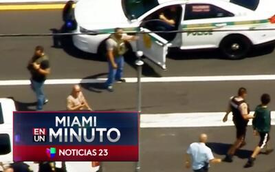 'Miami en un Minuto': cinco sospechosos de robo fueron capturados tras p...