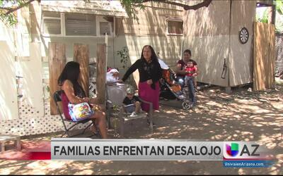 Familias enfrentan desalojo tras venta de casas móviles en Mesa Royale