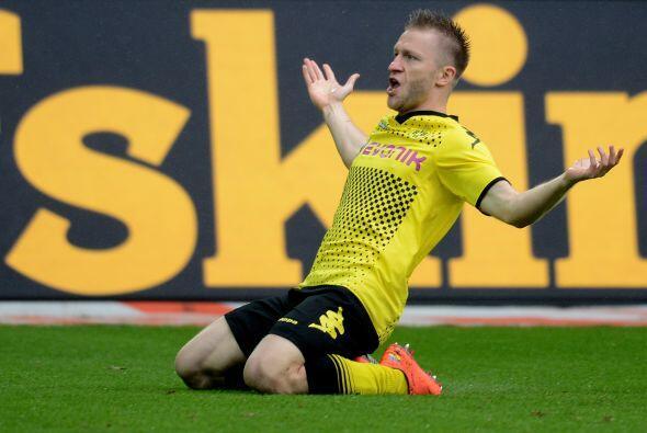 En el duelo ante el Freiburg en el cierre del torneo alemán, Blas...
