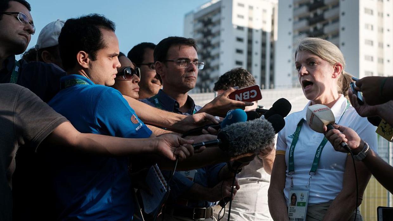 Australia se negó a instalarse en la Villa Olímpica al considerarla 'inh...