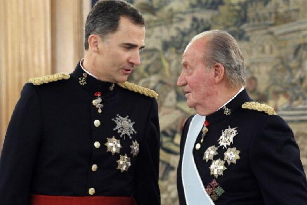 Al simbólico evento celebrado en el Palacio de la Zarzuela, asistió su f...