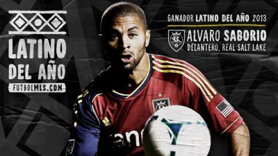 Álvaro Saborío Latino del Año 2013