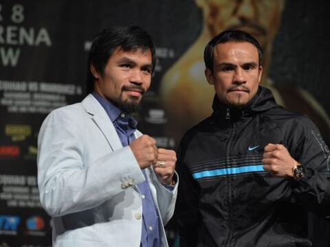 Manny Pacquiao y Juan Manuel Márquez coincidieron que están preparados y...