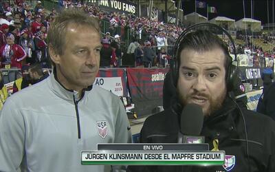 """Jürgen Klinsmann: """"Ninguno de los dos va a buscar el empate"""""""