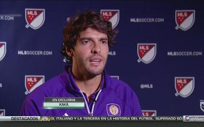 """Kaká: """"Feliz de competir con MLS-All Star contra un grandísimo club euro..."""