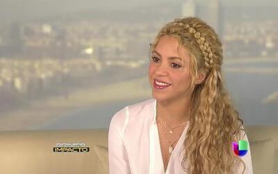 Exclusiva de Shakira sobre su supuesta boda