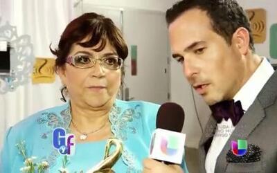 Carlos Calderón le pidió perdón a Doña Rosa Rivera