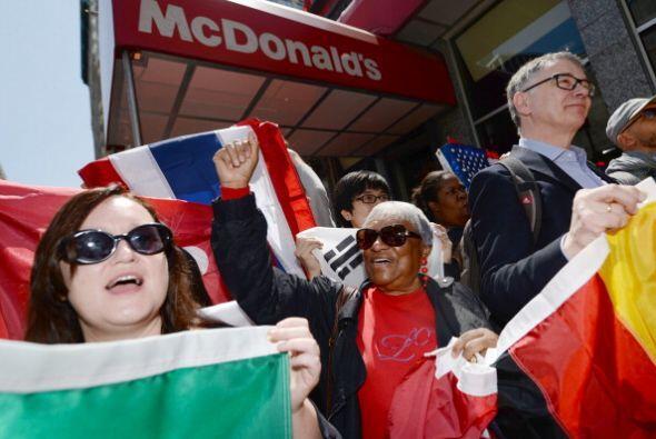 """""""Es increíble que nuestra lucha por $15 y el derecho al sindicato haya i..."""
