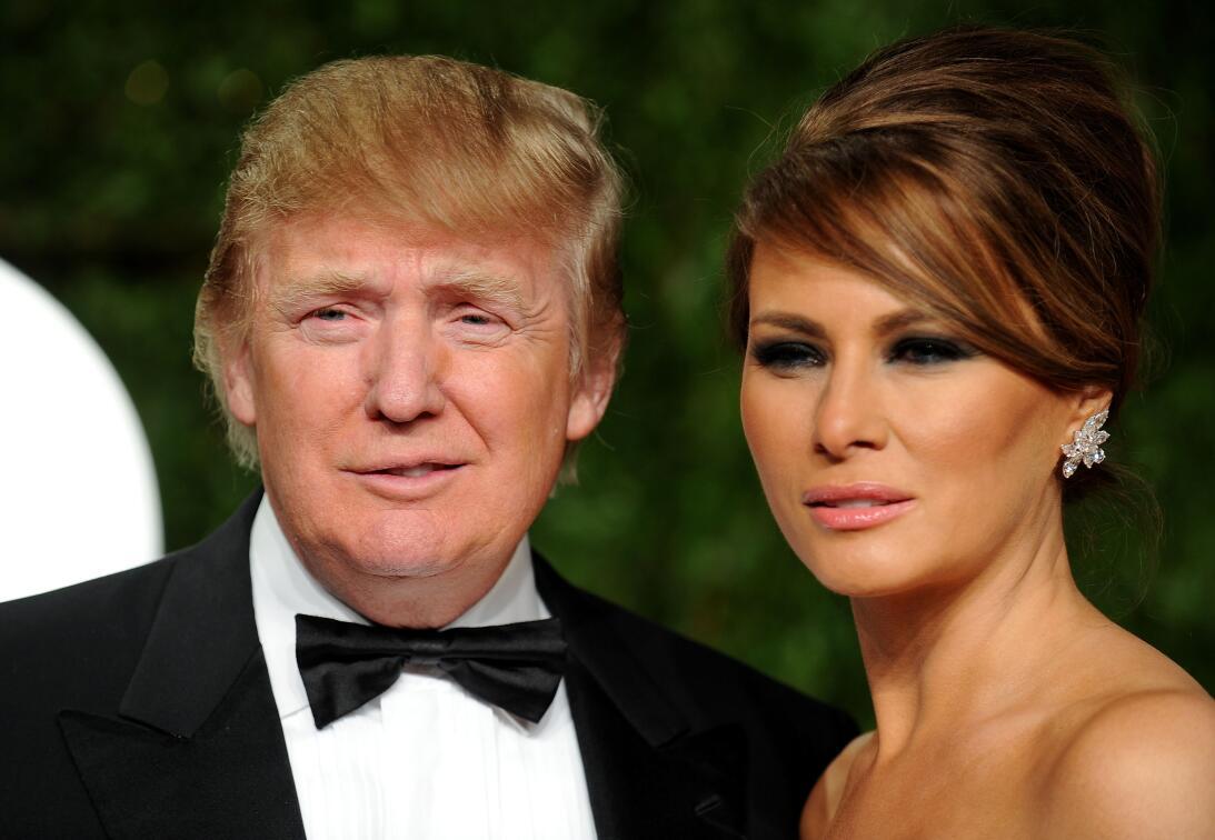Melania Trump, una primera dama inesperada GettyImages-109499852.jpg