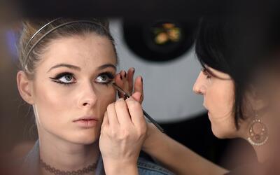 El exceso de maquillaje es algo que caracteriza nuestra cultura.