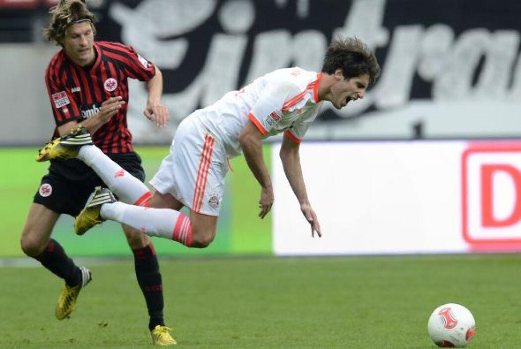El equipo de Frankfurt apretó solo en la recta final.