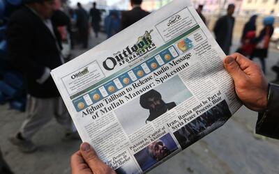 Diarios afganos recogieron la muerte del mulá Mansur