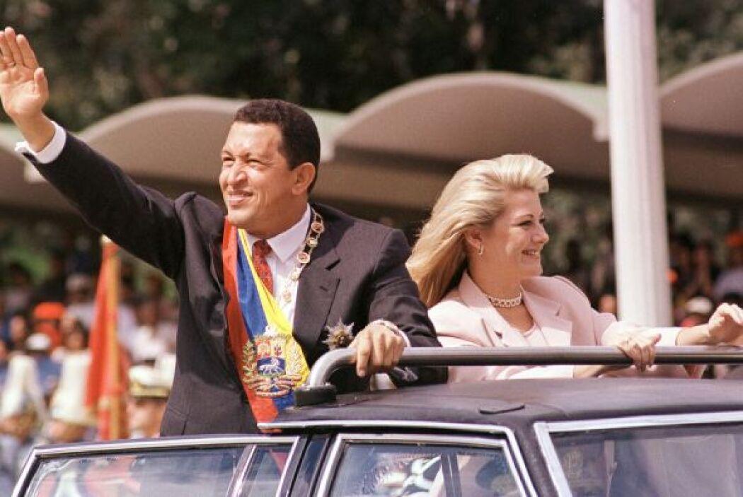 Sin embargo, la lista de romances de Hugo Chávez no terminó ahí, las muj...