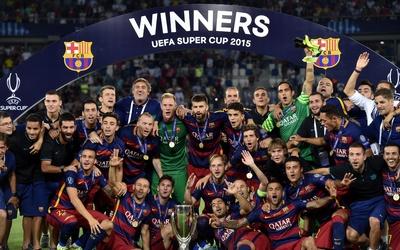 El Barcelona se proclamó campeón de la Supercopa de la UEFA ante el Sevilla