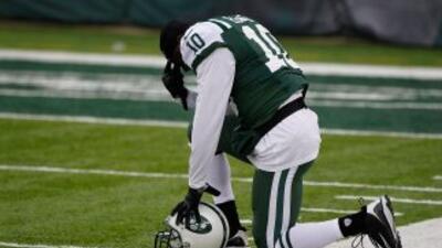 Santonio Holmes regresaría a los Jets pero, ¿lo quieren ellos de vuelta?...