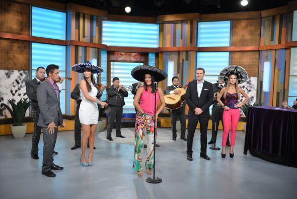El tema elegido 'Serenta Huasteca' y hubo baile incluido.