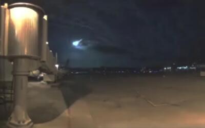 Pequeño meteorito cruza los cielos en el noreste de EEUU