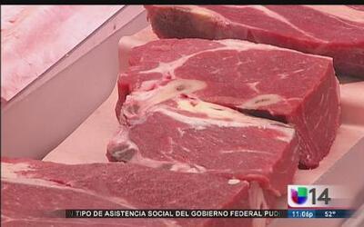 Sequía en California aumenta el precio de la carne