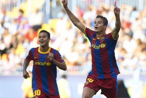 La alegría de Afellay luego de marcar su gol.