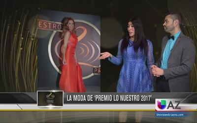 Lo mejor de la moda en Premio Lo Nuestro 2017